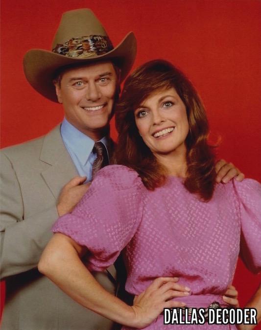 Dallas, Larry Hagman, Linda Gray