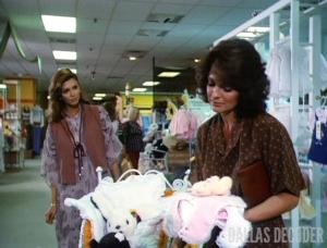 Black Market Baby, Dallas, Linda Gray, Pam Ewing, Sue Ellen Ewing, Victoria Principal