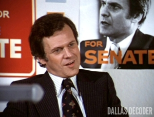 Cliff Barnes, Dallas, Election, Ken Kercheval