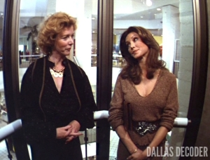 Act of Love, Barbara Babcock, Dallas, Liz Craig, Pam Ewing, Victoria Principal