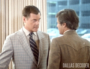 Cliff Barnes, Dallas, J.R. Ewing, Ken Kercheval, Larry Hagman