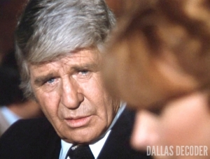 Dallas, Jim Davis, Jock Ewing, Julie Grey, Julie's Return, Tina Louise