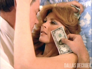 Dallas, J.R. Ewing, Julie Grey, Larry Hagman, Spy in the House, Tina Louise