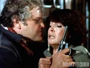 Brian Dennehy, Dallas, Linda Gray, Luther Frick, Sue Ellen Ewing, Winds of Vengeance