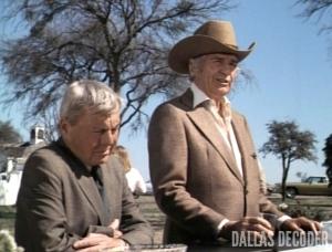 Barbecue, Dallas, David Wayne, Digger Barnes, Jim Davis, Jock Ewing