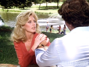 Bobby Ewing, Dallas, Jenna Wade, Morgan Fairchild, Old Acquaintance, Patrick Duffy