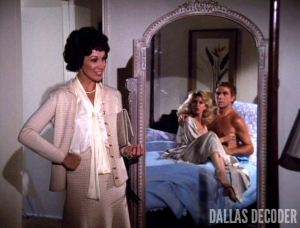 Dallas, Jenna Wade, Maynard Anderson, Melissa Anderson, Morgan Fairchild, Nicki Flacks, Old Acquaintance, Peter Mark Richman
