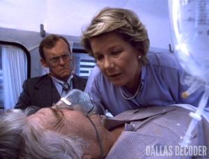 Barbara Bel Geddes, Bypass, Dallas, Dan Ammerman, Dr. Harlan Danvers, Jim Davis, Jock Ewing