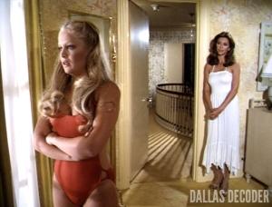 Charlene Tilton, Dallas, Lucy Ewing, Pam Ewing, Runaway, Victoria Principal
