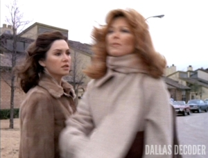 Dallas, Julie Grey, Pam Ewing, Spy in the House, Tina Louise, Victoria Principal