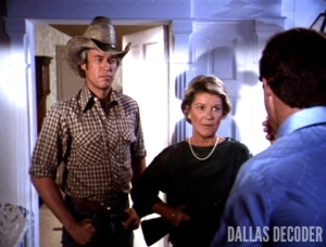 Barbara Bel Geddes, Dallas, Miss Ellie Ewing, Ray Krebbs, Steve Kanaly, Survival
