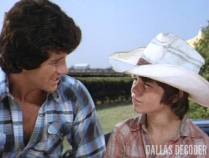 Bobby Ewing, Dallas, Lost Child, Luke Middens, Ronnie Scribner