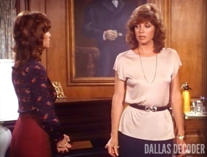 Dallas, Linda Gray, Mastectomy Part 2, Pam Ewing, Sue Ellen Ewing, Victoria Principal