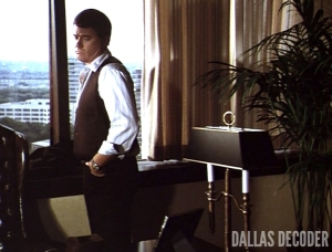 Dallas, Ellie Saves the Day, J.R. Ewing, Larry Hagman