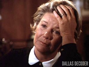 Barbara Bel Geddes, Dallas, John Ewing III Part 1, Miss Ellie Ewing