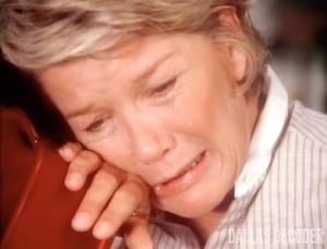 Barbara Bel Geddes, Dallas, Mastectomy Part 2, Miss Ellie Ewing