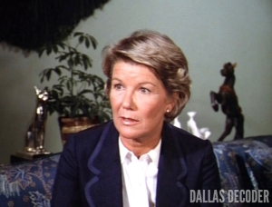 Barbara Bel Geddes, Dallas, Miss Ellie Ewing, Return Engagements