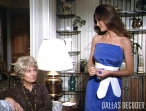 Dallas, Kristin Affair, Kristin Shepard, Martha Scott, Mary Crosby, Patricia Shepard