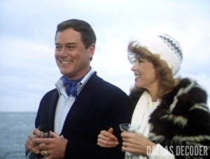 Dallas, J.R. Ewing, Julie Grey, Larry Hagman, Red File Part 1, Tina Louise