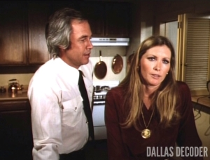 Dallas, Donna Culver, Jenna's Return, Ray Krebbs, Steve Kanaly, Susan Howard