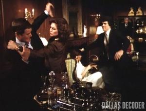 Bobby Ewing, Dallas, Divorce Ewing Style, J.R. Ewing, Larry Hagman, Linda Gray, Pam Ewing, Patrick Duffy, Sue Ellen Ewing