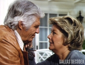 Barbara Bel Geddes, Dallas, Jim Davis, Jock Ewing, Miss Ellie Ewing, Wheeler Dealer