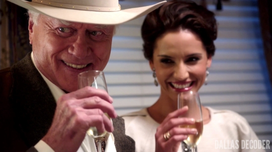 Changing of the Guard, Dallas, J.R. Ewing, Larry Hagman, Leonor Varela, Marta del Sol
