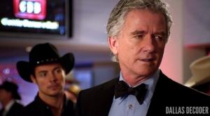 Bobby Ewing, Dallas, Hedging Your Bets, John Ross Ewing, Josh Henderson, Patrick Duffy, TNT