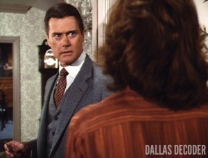 Dallas, House Divided, J.R. Ewing, Larry Hagman, Linda Gray, Sue Ellen Ewing, House Divided