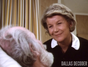 Barbara Bel Geddes, Dallas, Miss Ellie Ewing, Jock's Trial Part 2