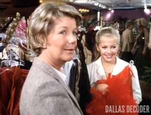 Barbara Bel Geddes, Charlene Tilton, Dallas, Lucy Ewing, Miss Ellie Ewing, Paternity Suit