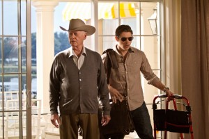 Almost 5 million viewers saw J.R. return to Southfork this week. (Photo credit: Zade Rosenthal/TNT)