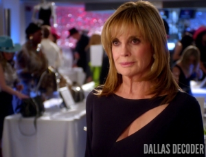 Dallas, Hedging Your Bets, Linda Gray, Sue Ellen Ewing, TNT