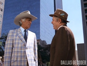 Amos Krebbs, Dallas, Fourth Son, Jim Davis, Jock Ewing, William Windom
