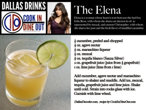 Dallas Drinks - The Elena