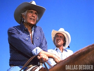 Dallas, Jim Davis, Jock Ewing, Ray Krebbs, Steve Kanaly, Taste of Success