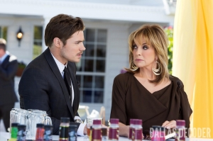 Changing of the Guard, Dallas, John Ross Ewing, Josh Henderson, Linda Gray, Sue Ellen Ewing, TNT