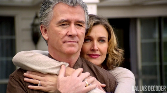 Ann Ewing, Bobby Ewing, Brenda Strong, Dallas, Patrick Duffy, Revelations, TNT