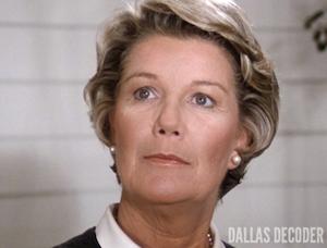Barbara Bel Geddes, Dallas, Miss Ellie Ewing