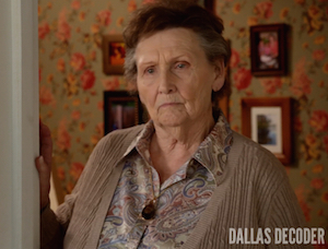Dallas, Margaret Bowman, Mrs. Henderson, TNT