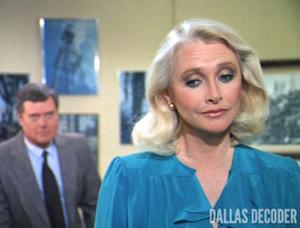 Dallas, J.R. Ewing, Larry Hagman, Leslie Stewart, Susan Flannery