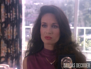 Conundrum, Dallas, Kristin Shepard, Mary Crosby