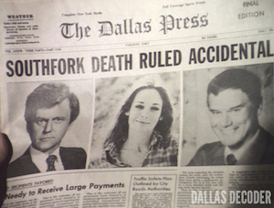 Cliff Barnes, Dallas, Gone But Not Forgotten, J.R. Ewing, Ken Kercheval, Kristin Shepard, Larry Hagman, Mary Crosby