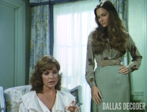 Dallas, Kristin Shepard, Linda Gray, Mary Crosby, Silent Killer