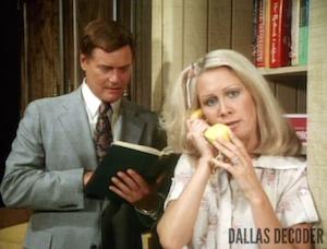 Dallas, Joan Van Ark,J.R. Ewing, Knots Landing, Larry Hagman, Valene Ewing