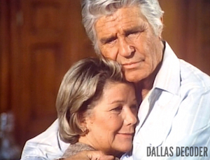Barbara Bel Geddes, Dallas, Jim Davis, Jock Ewing, Mastectomy Part 2, Miss Ellie Ewing