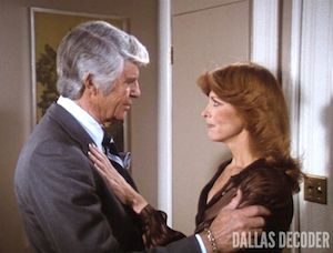 Dallas, Jim Davis, Jock Ewing,  Julie Grey, Julie's Return