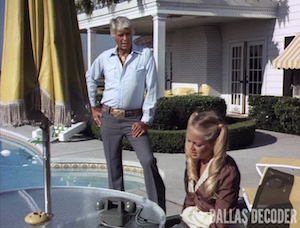 Charlene Tilton, Dallas, Jim Davis, Jock Ewing, Lucy Ewing, Prodigal Mother