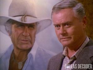 Daddy Dearest, Dallas, Jim Davis, Jock Ewing, J.R. Ewing, Larry Hagman