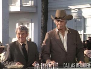 Dallas, David Wayne, Digger Barnes, Jim Davis, Jock Ewing